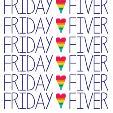 The Friday Fiver – Sponsored by Crafterhours
