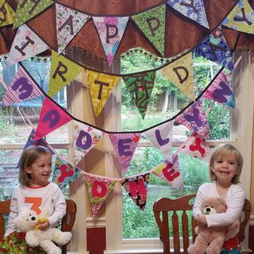 Tutorial: Birthday Bunting