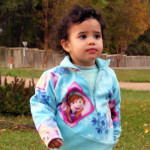 2 Contrast 5 out of 4 Patterns Kids K2 Fleece Pullover