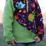 4 Contrast 5 out of 4 Patterns Kids K2 Fleece Pullover