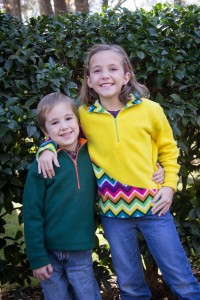 6 and 8 5 out of 4 Patterns Kids K2 Fleece Pullover