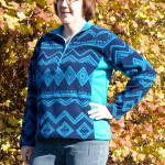 5 out of 4 Patterns Women's Ascent Pullover Medium Contrast