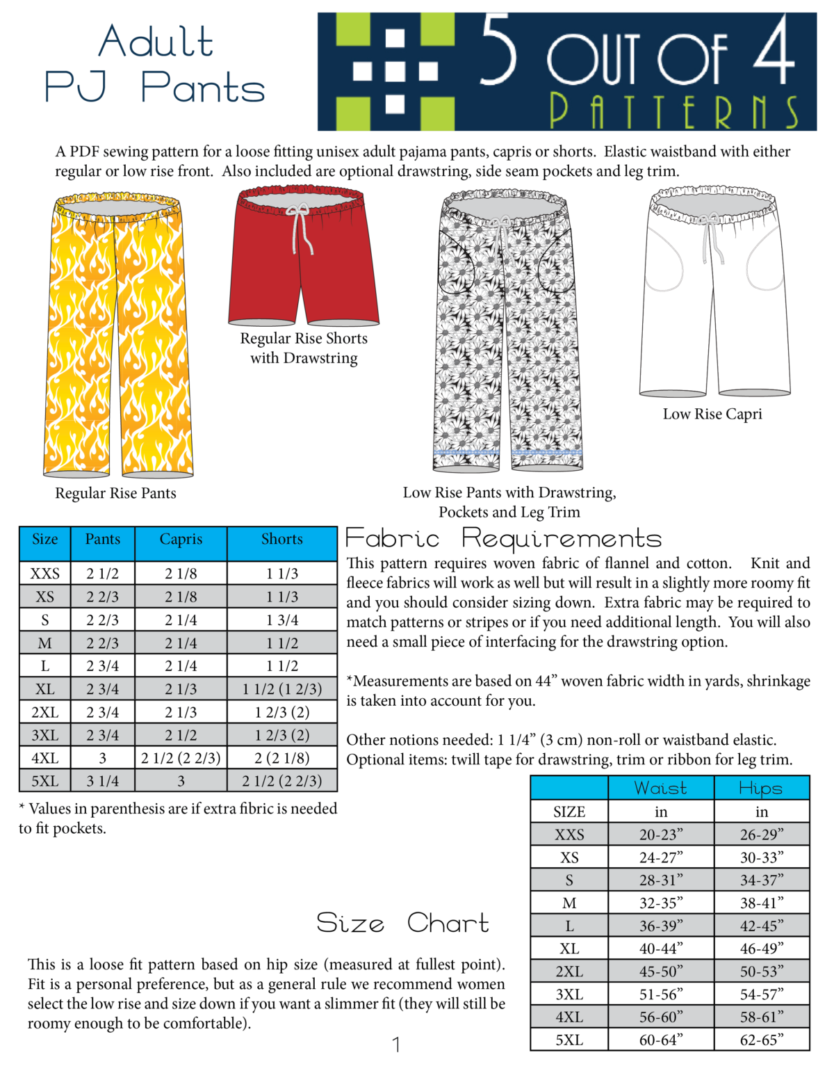 Sewing Patterns Pajamas