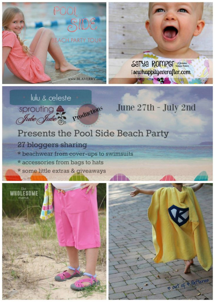 Pool Side Beach Party Blog Tour