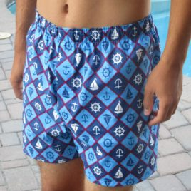Men's Woven Boxer Shorts