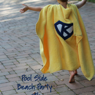 Superhero Towel Capes