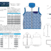 5oo4 Women's Aspen Fleece Vest Info Page
