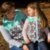 5oo4 Mommy and Me Fleece Vests