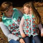 5oo4 Mommy and Me Fleece Vests