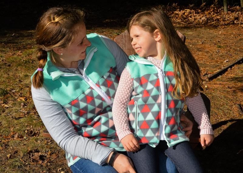 5oo4 Aspen and Willow Fleece Vests