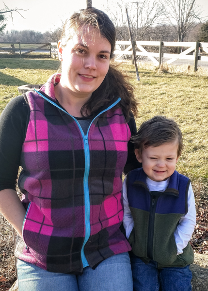 5oo4 Matching Fleece Vests
