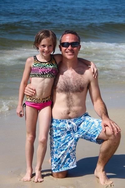 Girls Agility Riptide and Mens Swim Trunks