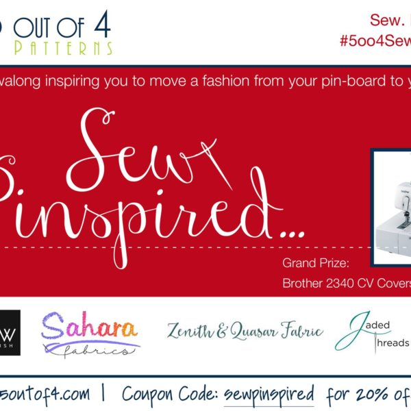 5oo4 Sew Pinspired Contest