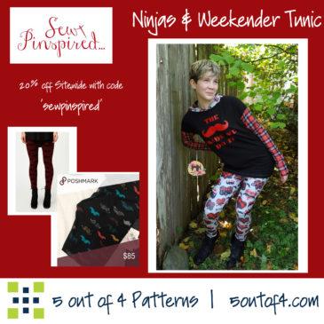 Sew Pinspired Ninjas & Weekender