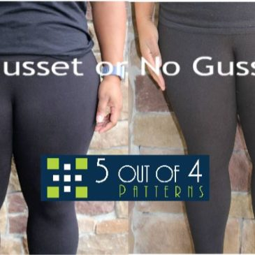 Ninja Leggings: Gusset or No Gusset?
