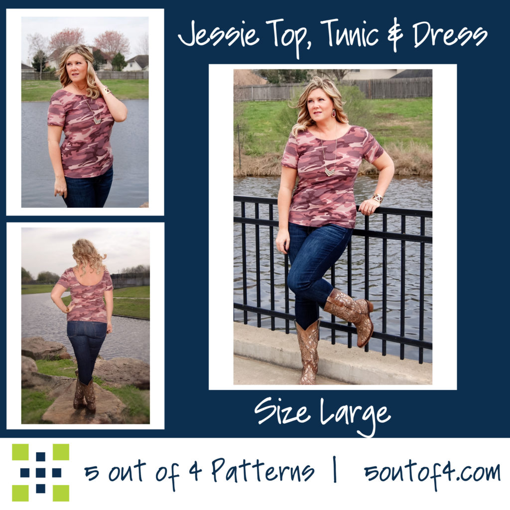 Jessie Top, Tunic and Dress