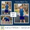 5oo4 Men's Rocky Semi-fitted Tee sz XS