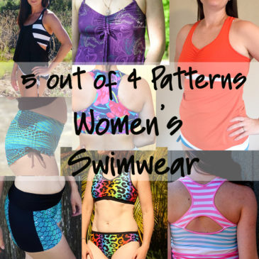 Summer's Coming – Check out all of the women's swimsuit patterns available at 5oo4!