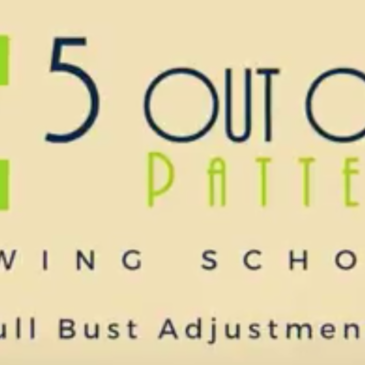 Sewing School: Full Bust Adjustment