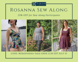 Rosanna Sew Along Sale