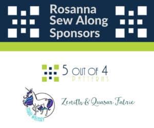 Rosanna Sew Along Sponsors