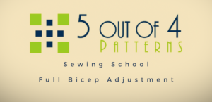 5 out of 4 patterns sewing school