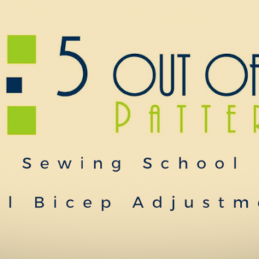 Sewing School: Full Bicep Adjustment