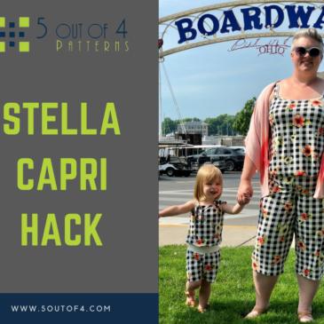 Stella Romper Capri Hack