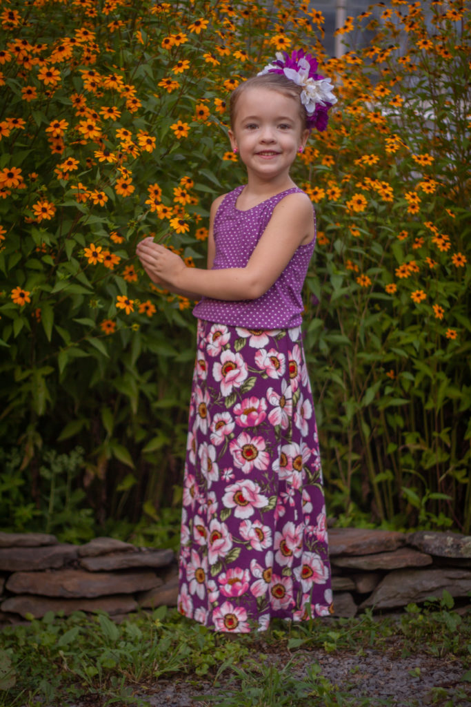 Girls Virginia Tank Amp Maxi 5 Out Of 4 Patterns
