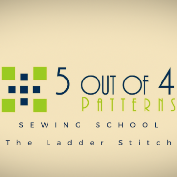 Sewing School: The Ladder Stitch