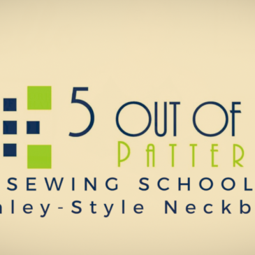 Sewing School: The Henley-Style Neckband Tutorial