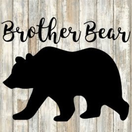 Brother Bear Cut File