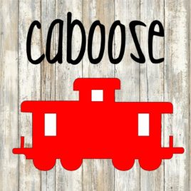 Caboose Cut File