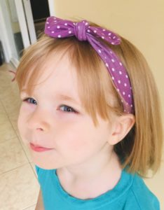 sewing school knot headband
