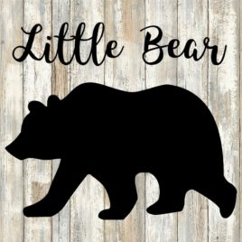 Little Bear Cut File