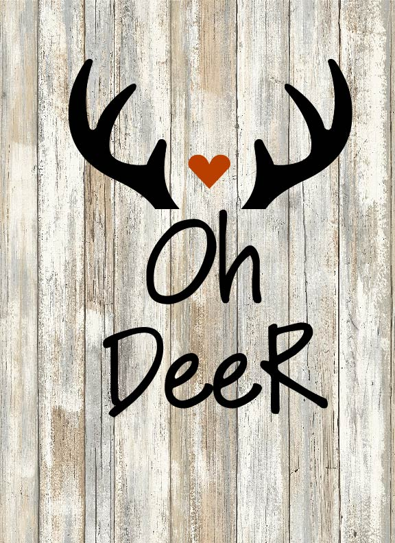 Oh Deer Cut File 5 Out Of 4 Patterns