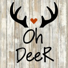 Oh Deer Cut File
