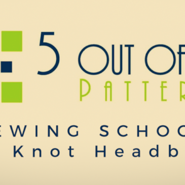 Sewing School: The Knot Headband