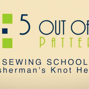 Sewing School: The Fisherman's Knot Headband