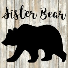Sister Bear Cut File