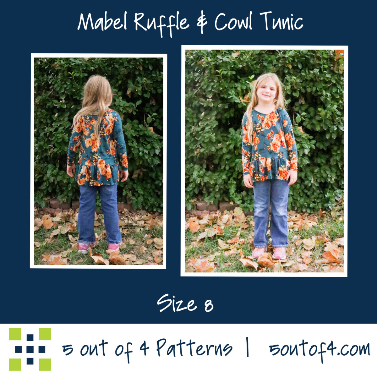 5oo4 Girls Mabel Tunic