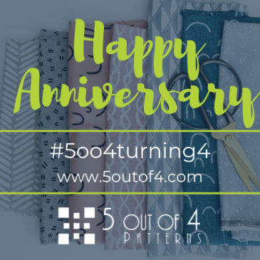 5 out of 4 Patterns is Turning FOUR!