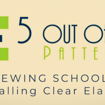 Sewing School: Installing Clear Elastic