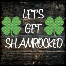 Shamrocked Cut File