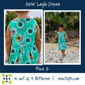 girls Layla pleats