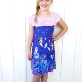 5oo4 Girls' Lizzy Dress size 8 (6)