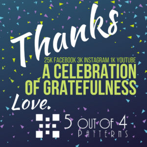 5 out of 4 celebration of gratefulness
