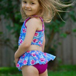 5oo4 Girls' Ruth Swim Bottoms