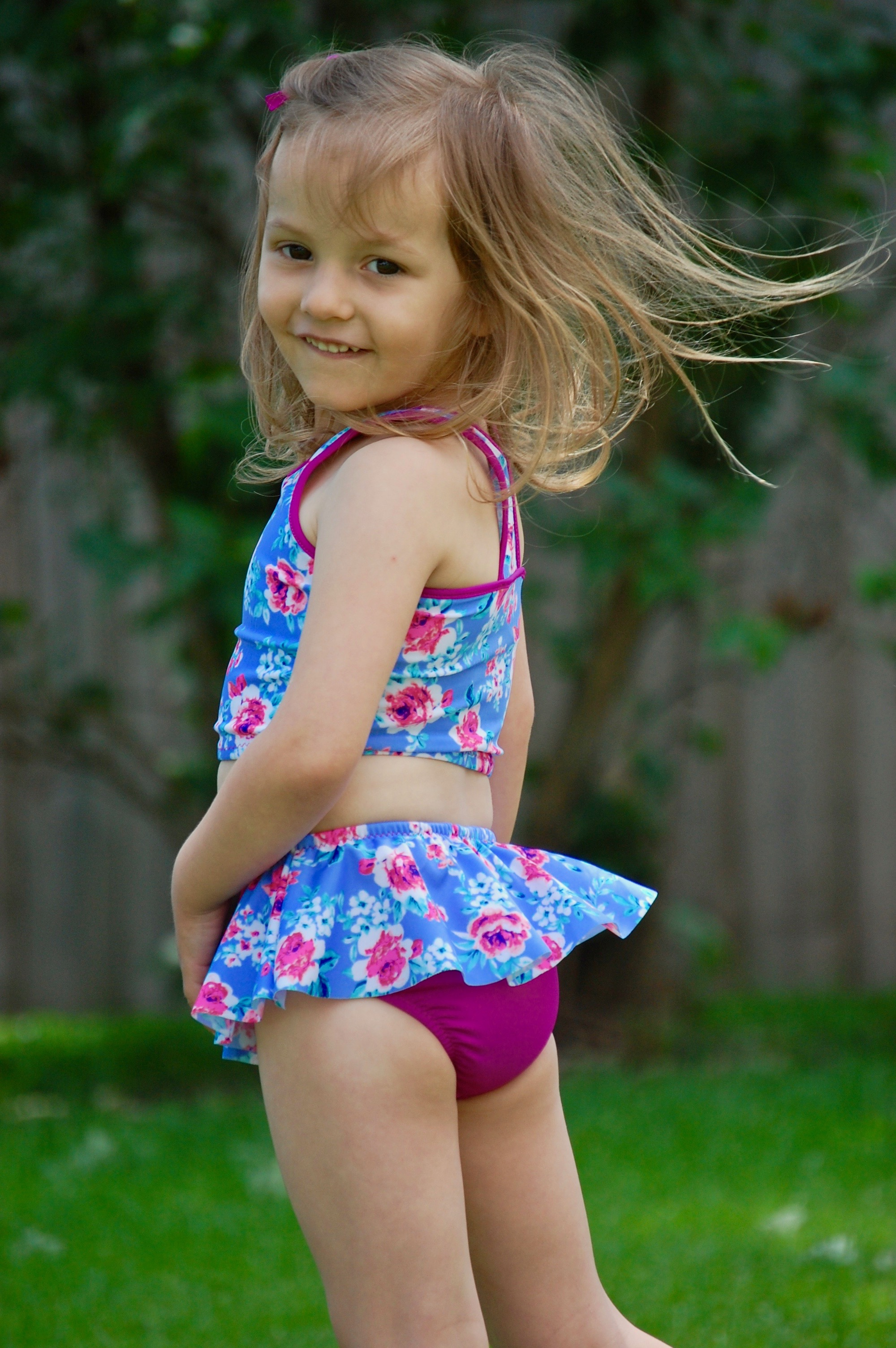 Girls Ruth Swim Bottoms 5 Out Of 4 Patterns