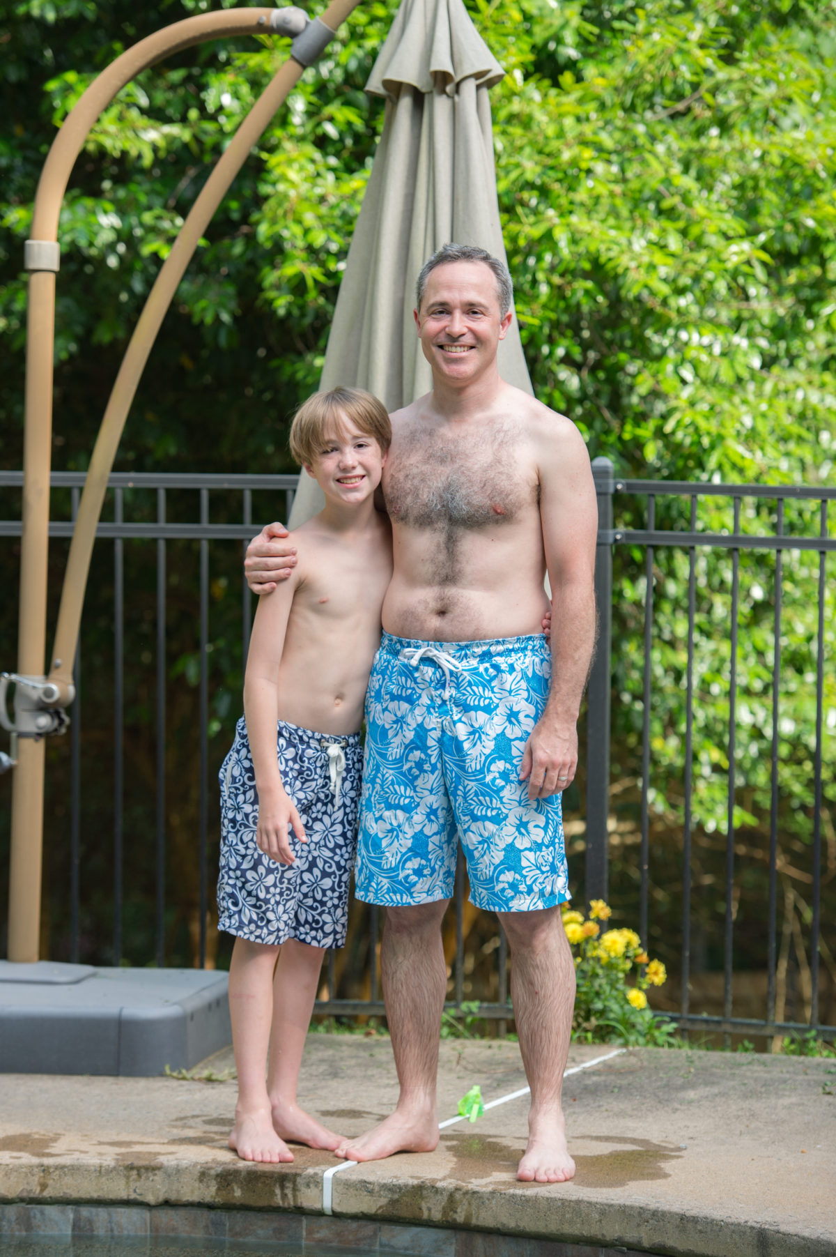 5oo4 Men's and Kids' Swim Trunks